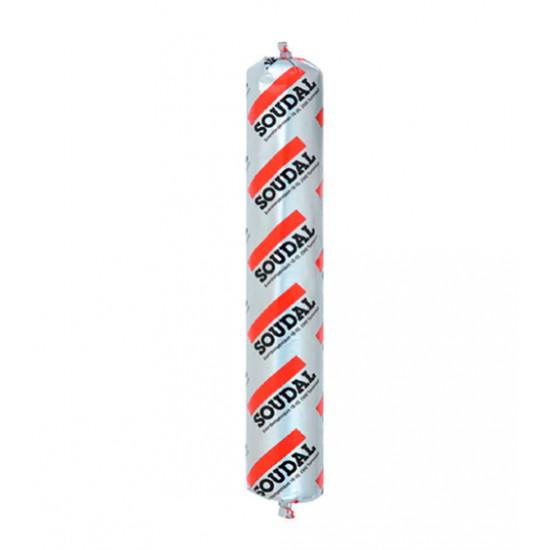 Полиуретановый герметик Соудал (Soudal) Soudaflex 40, серый, 600 мл
