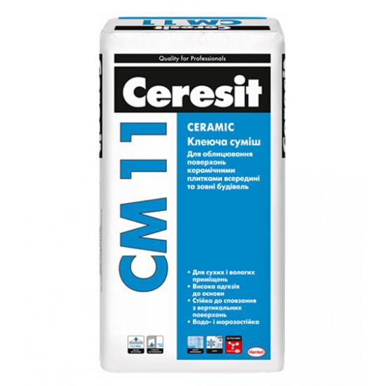 Клей для плитки Ceresit СМ 11, 25 кг