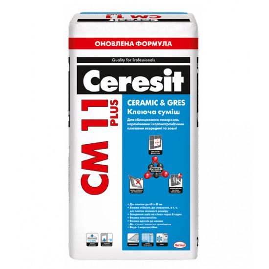 Клеящая смесь для плитки Comfort Gres Церезит (Ceresit) СМ PLUS 11, 25 кг