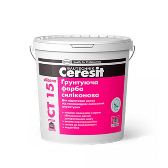Грунтующая краска Церезит (Ceresit) СТ 15, 10 л