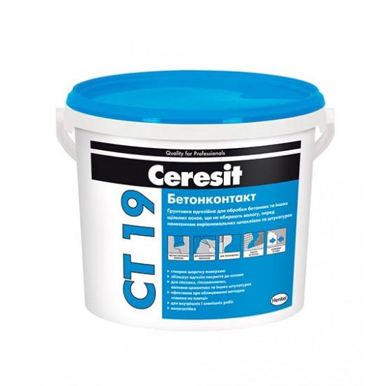 Грунтовка Церезит (Ceresit) Бетонконтакт  СТ 19, 15кг