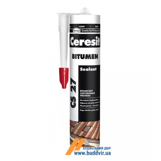 Битумный герметик Церезит (Ceresit) CS27, 300 мл