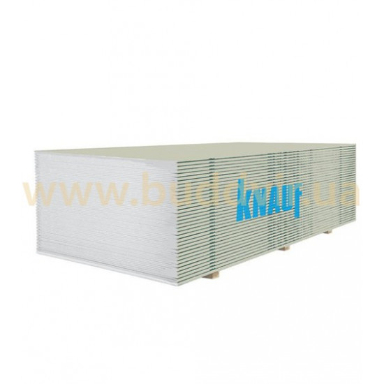 Гипсокартон потолочный Кнауф (Knauf) ГКП 9,5х1200х2000 мм