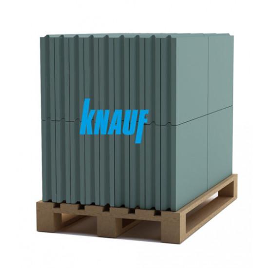 Гипсоплита пазогребневая влагостойкая Кнауф (Knauf) 80*500*667 мм