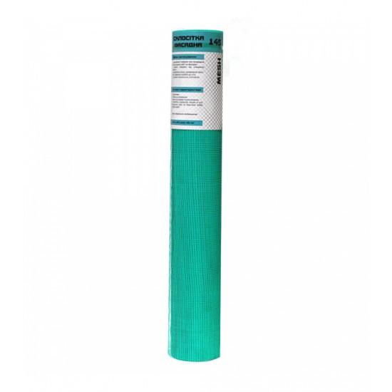 Стеклосетка Меш (Mesh) Зеленая ячейка 5х5 мм, плотность 145 г/м2, 50 кв.м
