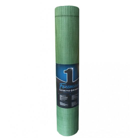 Стеклосетка Премиум фасадная ячейка 5*5 мм, плотность 145 г/м2, 50 кв.м
