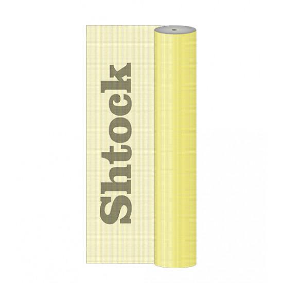 Стеклосетка Шток (Shtock) Желтая ячейка 4х4 мм, плотность 160 г/м2, 50 кв.м