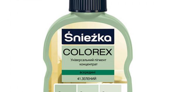 Барвник Sniezka Colorex 0,10л., 41* зелений