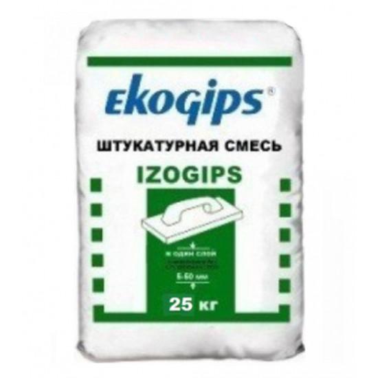 Штукатурка гипсовая Эко-Гипс (EKO-GIPS) Изо, 25 кг
