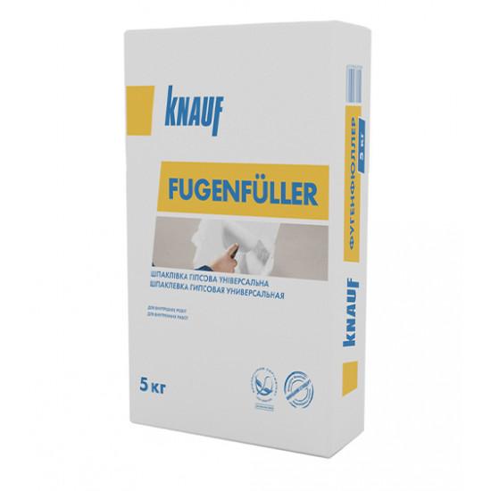 Шпаклевка гипсовая Кнауф (Knauf) Фугенфюлер, 5 кг