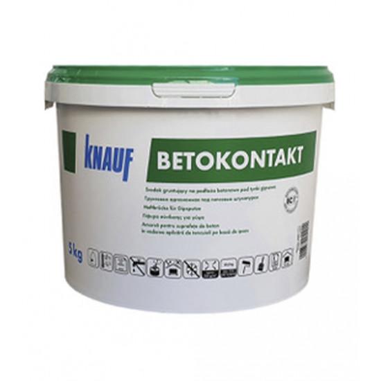 Грунтовка Кнауф (KNAUF) Бетоконтакт, 5 кг