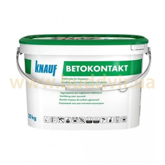 Грунтовка Кнауф (KNAUF) Бетоконтакт, 20 кг