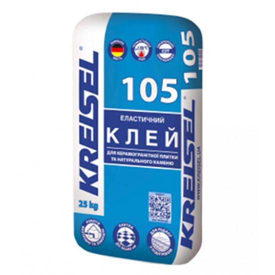 Клеевая смесь для керамогранита Крайзель (Kreisel) 105, 25 кг