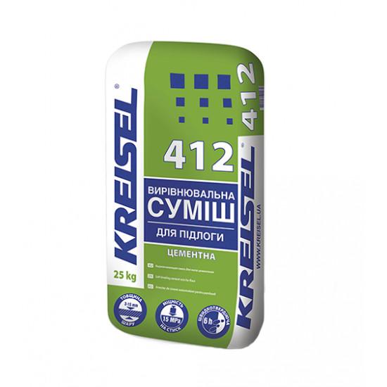 Самовыравнивающаяся смесь Крайзель (Kreisel) 412, 25 кг