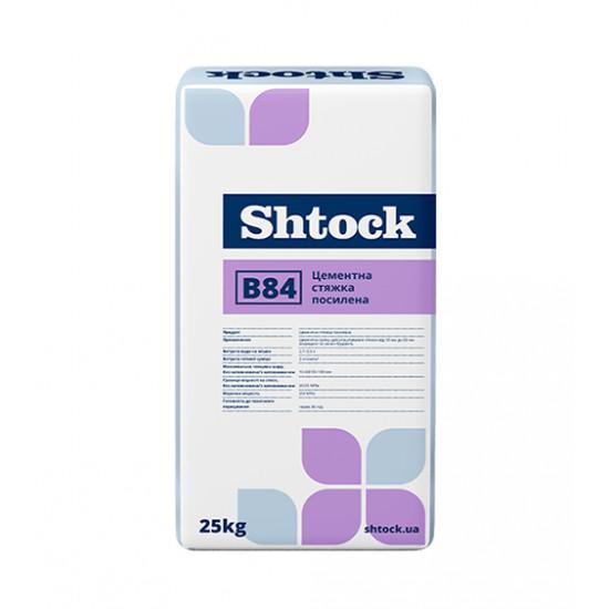 Стяжка цементная усиленная Шток (Shtock) 25 кг