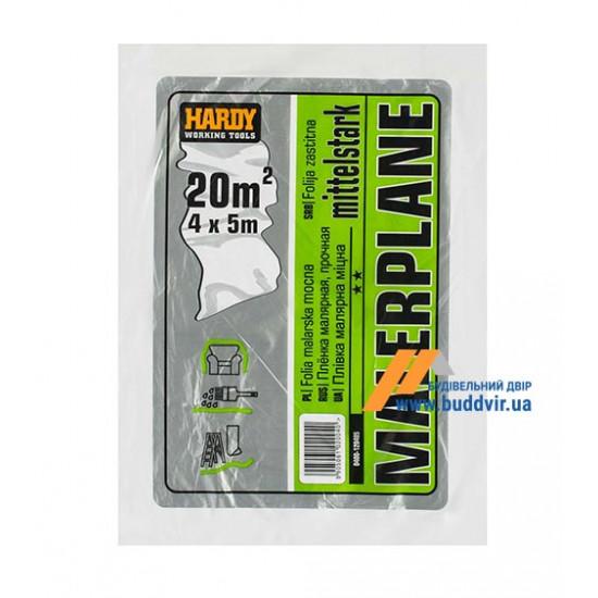 Пленка защитная 12 мк Хардекс (Hardy) HDPL 4х5 м