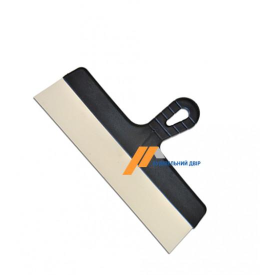 Шпатель нержавеющий с пластмасовой ручкой, 450 мм