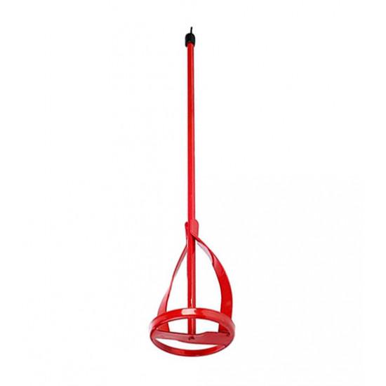 Миксер для краски (хвостовик hex),  Сталь, 100х600 мм