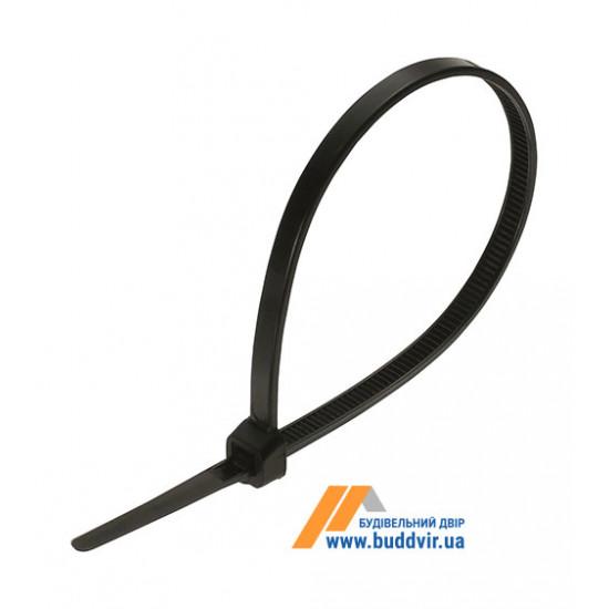 Стяжка Apro нейлоновая, черный, 5*300 мм, (100 шт)