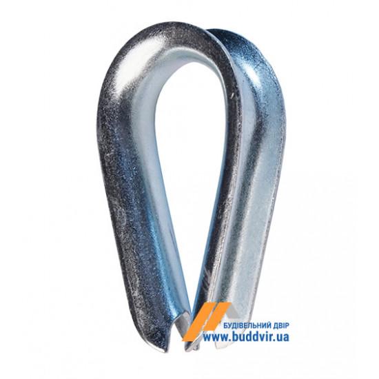 Коуш Металвис (Metalvis) цинк белый, 4 мм