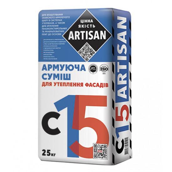 Смесь универсальная для ППС плит Артисан (Artisan) С-15, 25 кг