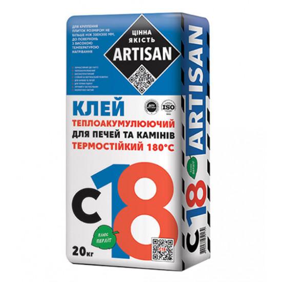 Клеющая смесь теплоудерживающая Артисан (Artisan) С-18, 20 кг