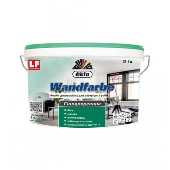 Интерьерная акриловая краска Дюфа (Dufa) Wandfarbe (D1a), 14 кг