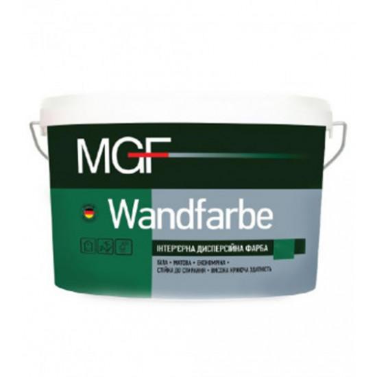 Интерьерная акриловая краска матовая МГФ (MGF) Wandfarbe  М1а 14 кг