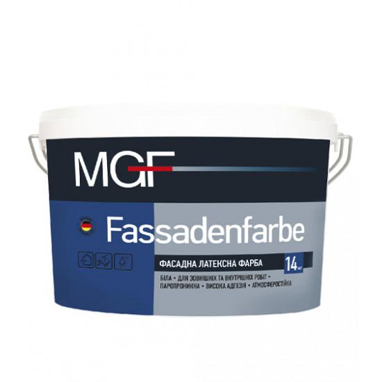 Фасадная акриловая краска МГФ (MGF) Fassadenfarbe M90 14 кг