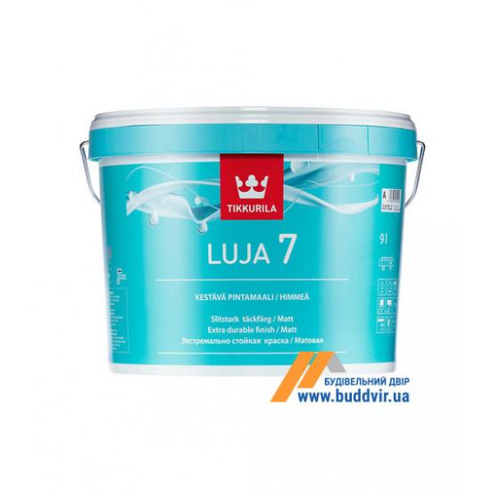 Интерьерная акриловая краска матовая Тіккуріла (Tikkurila) Луя, 2,7 л
