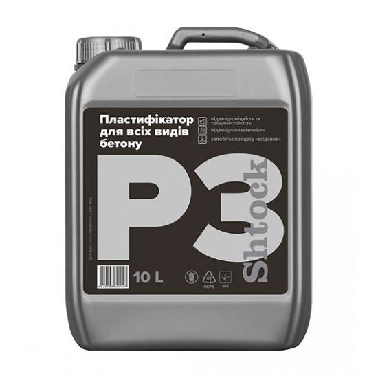 пластификатор для всех видов бетона Р3 Shtock, 10 л
