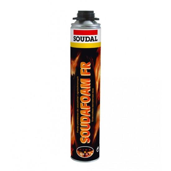 Пена монтажная профессиональная Соудал (Soudal) огнестойкая , 750 мл