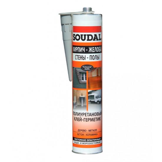 Полиуретановый герметик Соудал (Soudal) профессиональный, 300 мл