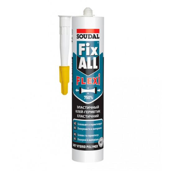 Жидкие гвозди Соудал (Soudal) FIX ALL Classic, белый, 290 мл