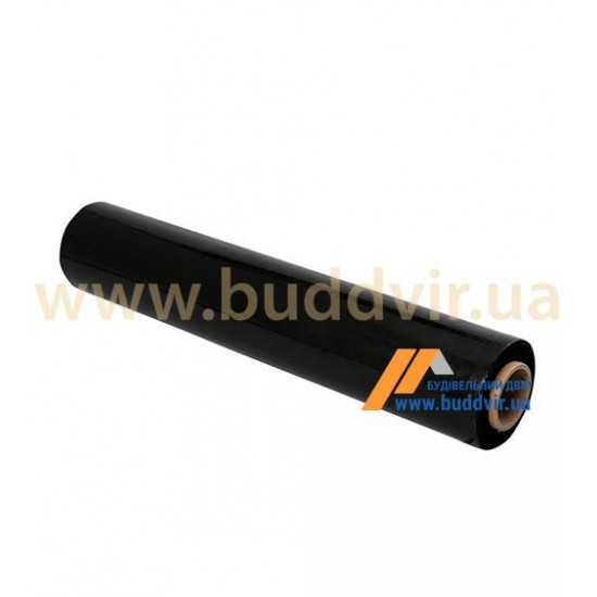 Пленка полиэтиленовая 100 мк полурукав 1,5х100 м, 2 сорт, черная