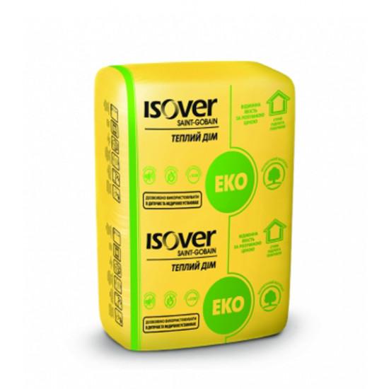 Минеральная вата Изовер (ISOVER) Теплый Дом, 100x610x1170 мм (5 м.кв)