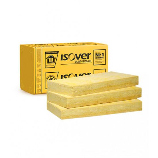 Минеральная вата Изовер (ISOVER) Штукатурный фасад, 100x600x1200 мм (2,88 м.кв)