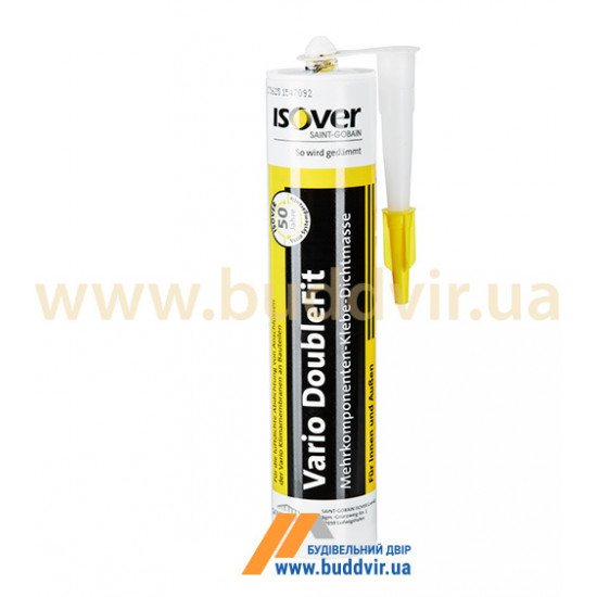 Полимерный гибкий герметик Изовер (Isover) Vario Doublefit, 310 мл