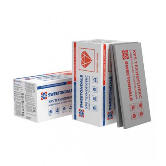 Плиты пинополистерольные экструзионные Технониколь (Teсhnonikol) ТЕХНОПЛЕКС С/2, 30x580x1180 мм
