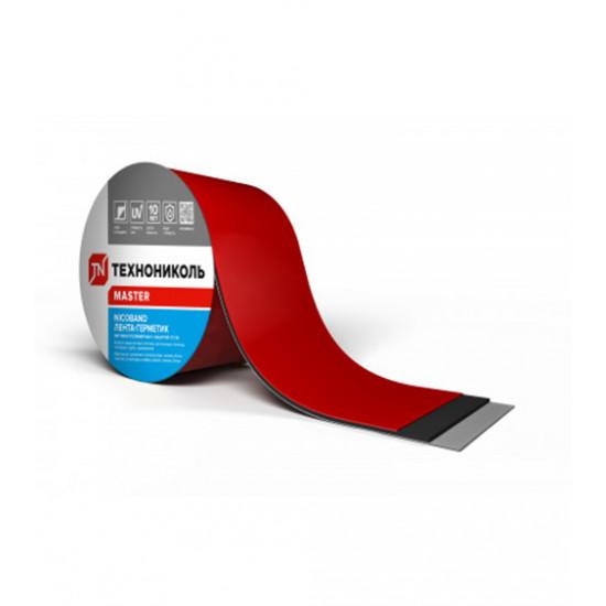 Лента самоклеящаяся герметизирующая ТЕХНОНИКОЛЬ (TEHNONIKOL) NICOBAND красный, 15 см х 3 м