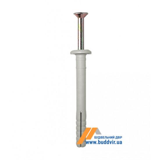 Дюбель быстрого монтажа 6*40 мм, гриб (100 шт)