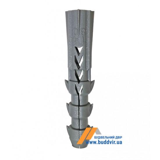 Дюбель полипропиленовый 8*40 мм (1 шт)