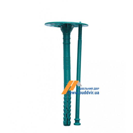 Дюбель термоизоляционный с пластиковым гвоздем, 10*120 мм (100 шт)