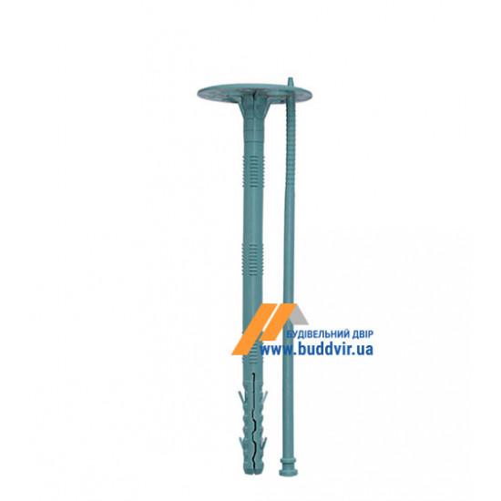 Дюбель термоизоляционный с пластиковым гвоздем, 10*140 мм (100 шт)