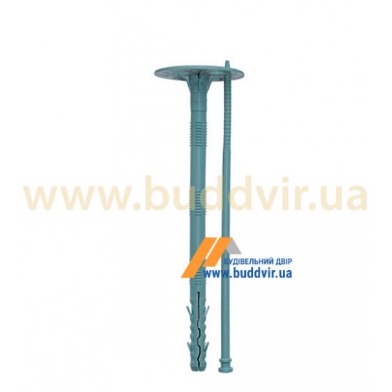 Дюбель термоизоляционный с пластиковым гвоздем, 10*200 мм (50 шт)