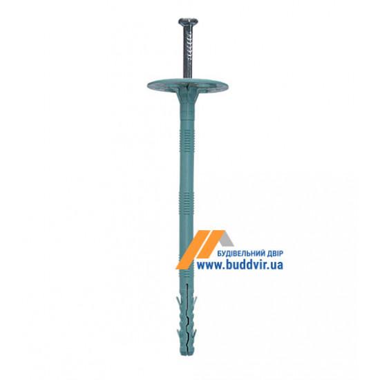 Дюбель термоизоляционный с металлическим гвоздем, 10*200 мм (50 шт)