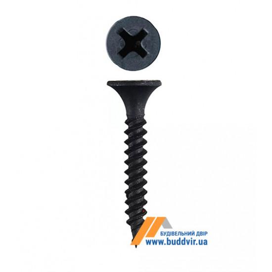 Шуруп для гипсокартона по металлу 3,5х25 мм (1000 шт)