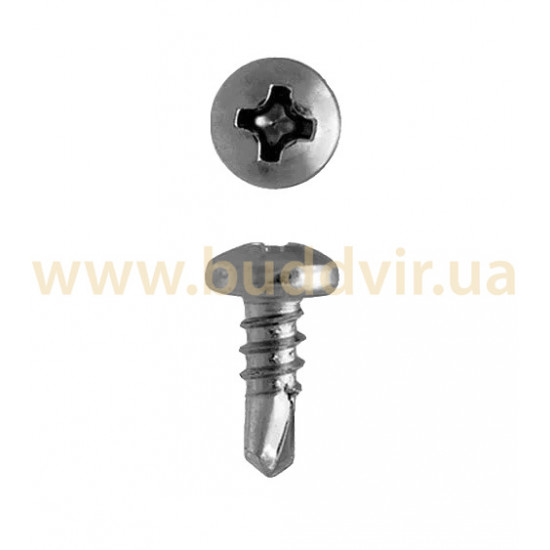 Саморез по металлу для гипсокартона 3,5х9,5 мм (1000 шт)