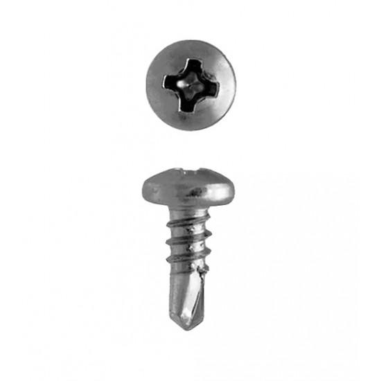 Шуруп с буром по металлу 3,5х9,5 мм (200 шт)