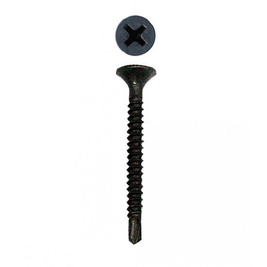 Саморез по металлу с буром 3,5х35 мм (1000 шт)